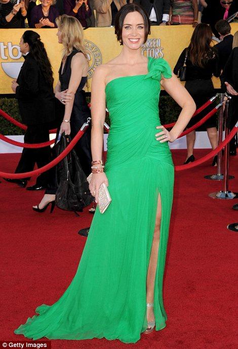 Emily Blunt at the 2012 SAG Awards