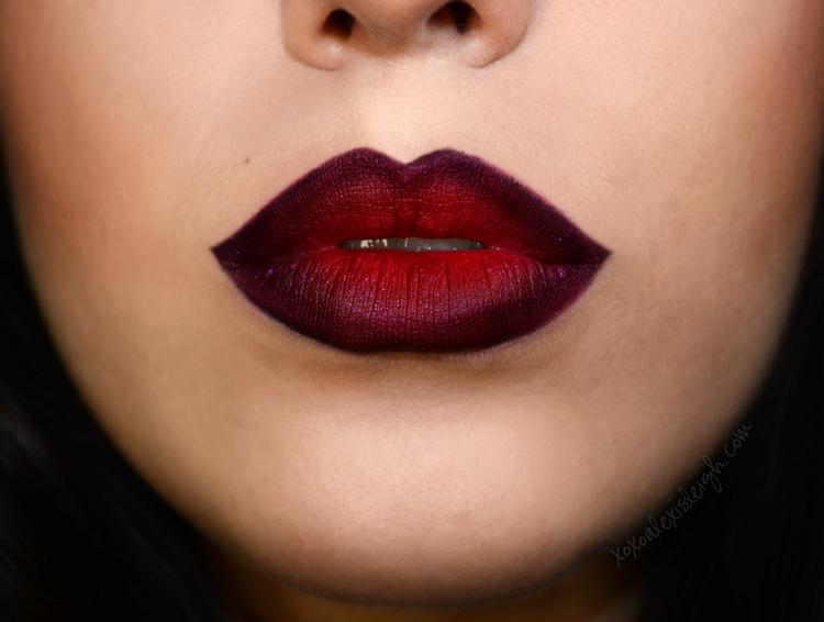 Get The Look: Matte Ombreé Lip   Reds Hair